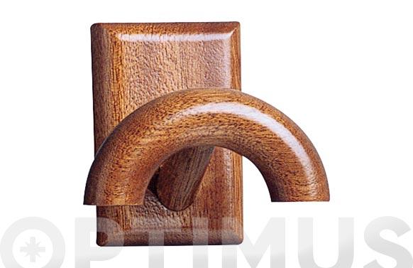 Colgador adh madera (bl. 1 u) sapelly