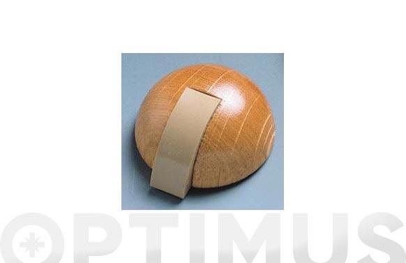 Tope adhesivo c/tllo (bl 1 u) roble