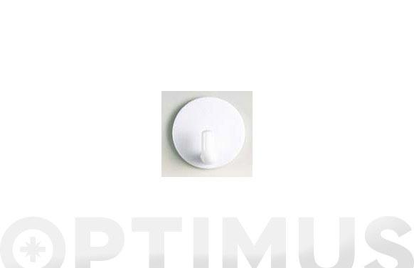 Colgador adhesivo (bl 2 u) blanco