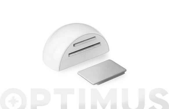 Retenedor adhesivo magnetico (bl 1u) blanco