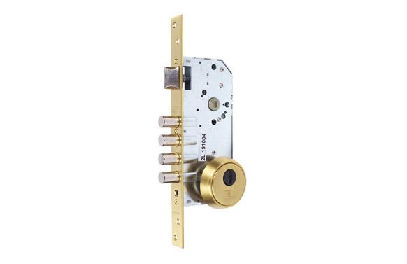 Cerradura seguridad embutir r200b/30-30 inox
