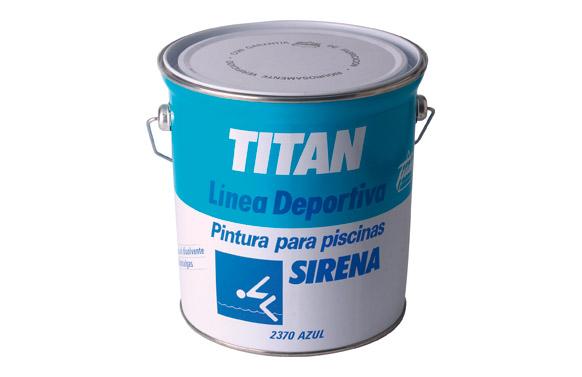 Pintura piscina sirena 2370 4l azul