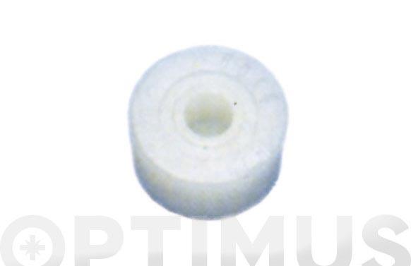 Taco recambio martillo nilon tipo presion r-102/22