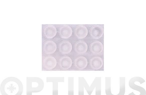 Gota transparente adhesivo 13 mm