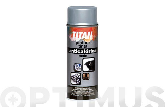 Pintura anticalorica spray 400 ml aluminio