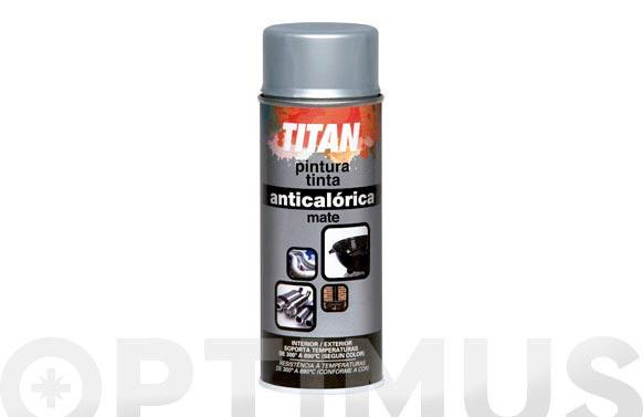 Pintura anticalorica spray 400 ml aluminio