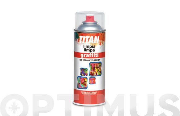 Limpiador graffiti spray 400 ml incoloro