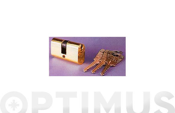 Cilindro oval ov laton llave serreta 26-26 llaves iguales