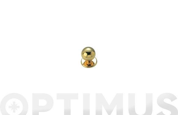 Pomo puerta bola fercrom 800-oro