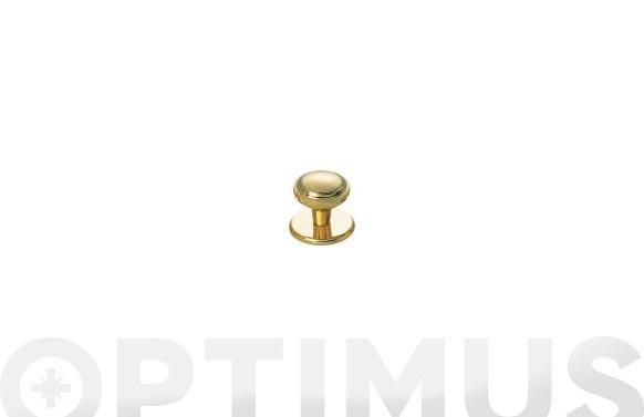 Pomo puerta plano fercrom 801-oro