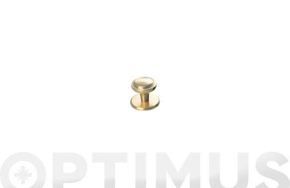 Pomo puerta plano fercrom 801-bronce