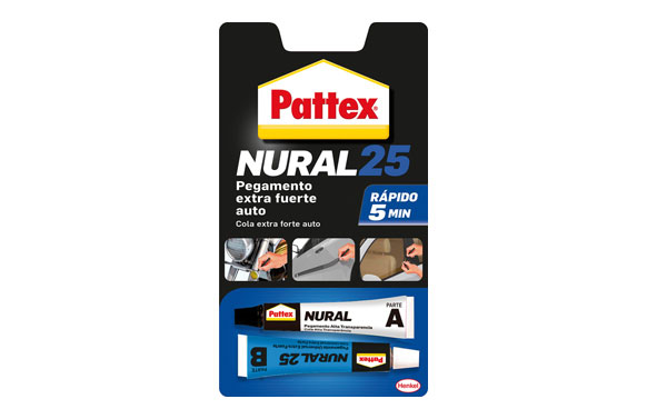 Adhesivo automovil rapido pattex nural 25 22 ml
