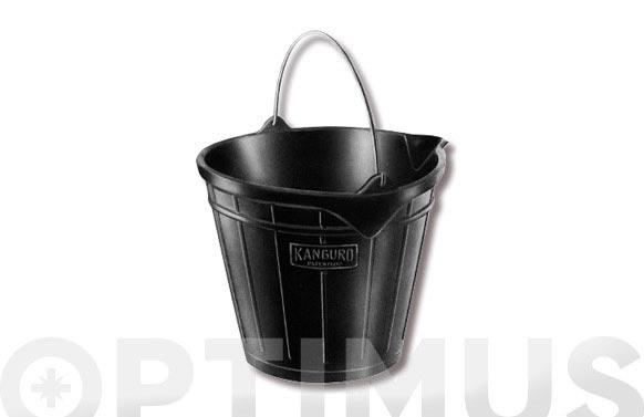 Cubo domestico goma mod. 2 11 l