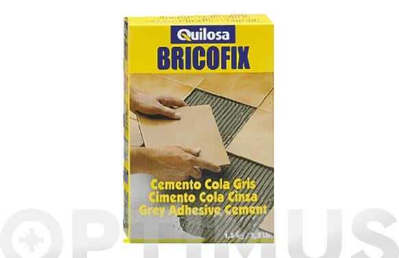 Cemento gris bricofix 1,5 kg
