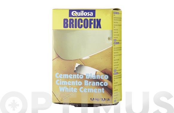 Cemento blanco bricofix 1,5 kg