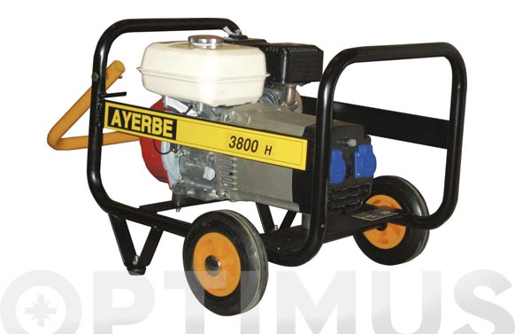 Generador ay-3800 honda mn 3.8 kva/3000 w