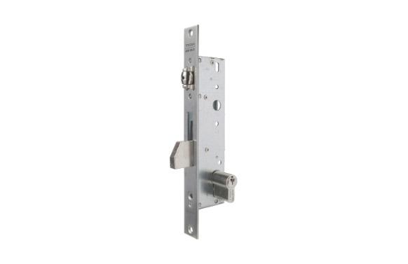 Cerradura puerta metalica serie 2210 2216-25 mm inox