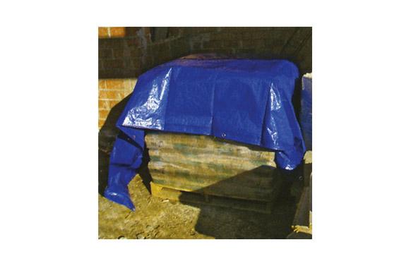 Toldo polietileno standard 90gr 2 x 3 m azul / verde