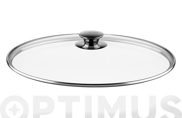 Rustidera baja aluminio fundido con tapa 24 cm