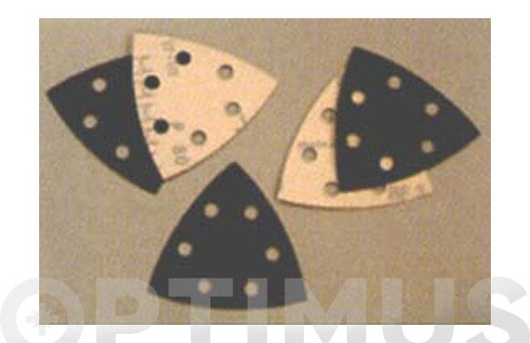 Papel abralite velgrip p46e triangular 94- 80/6 agujeros