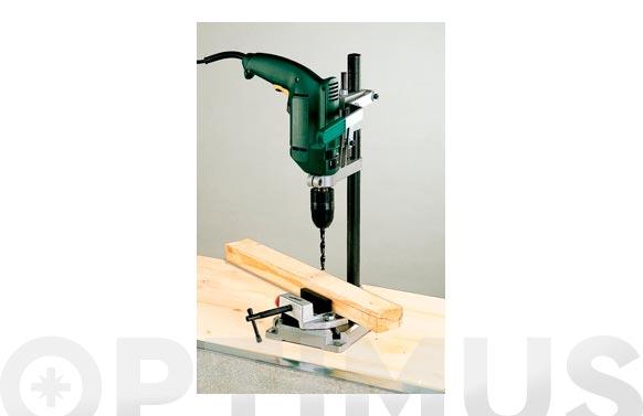 Soporte para taladro universal metalico ø 43 mm placa 160x230 mm