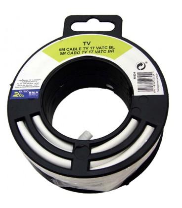 Cable coaxial antena tv economico 10 m