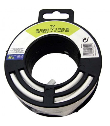 Cable coaxial antena tv economico 25 m