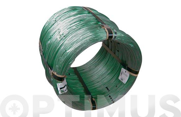 Alambre plastificado verde rio-flex 2.00/3.00 mm