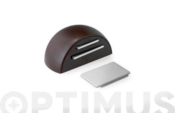 Retenedor adhesivo magnetico (bl 1u) marron