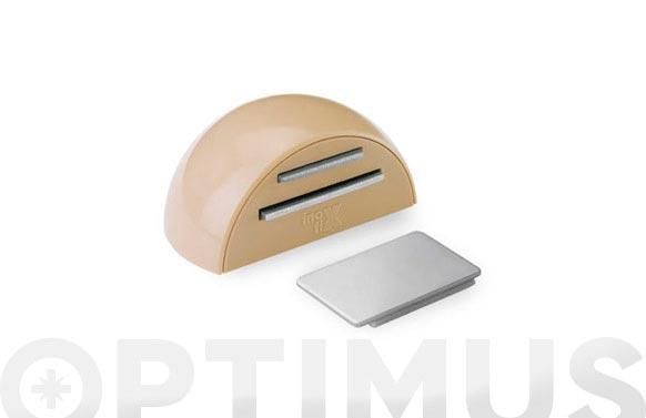 Retenedor adhesivo magnetico (bl 1u) beige