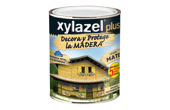 Lasur decor mate castaño 375 ml