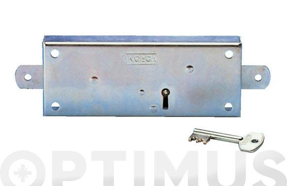 Cerradura puerta metalica pestillos dentro 200 llaves borjas bicromatado