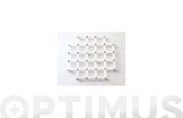 Salvamantel extensible 11111-27x26 acero cromado