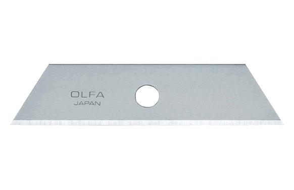 Cuchilla cuter trapezoidal 18 mm 5 uds