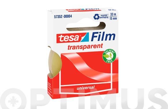 Cinta adhesiva tesafilm 33 m x 15 mm