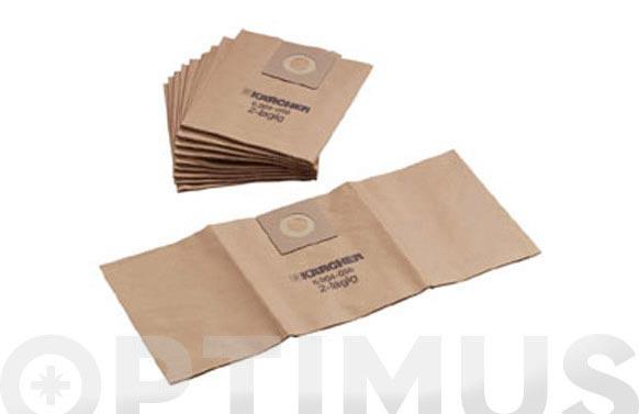 Bolsa papel aspirador (5 unid) k22xx/a25xx/wd3xxx/mv3