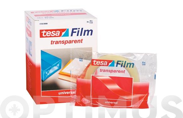 Cinta adhesiva practic film tesa 66x15