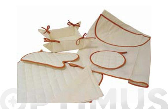 Mantel individual con servilleta 340 marron