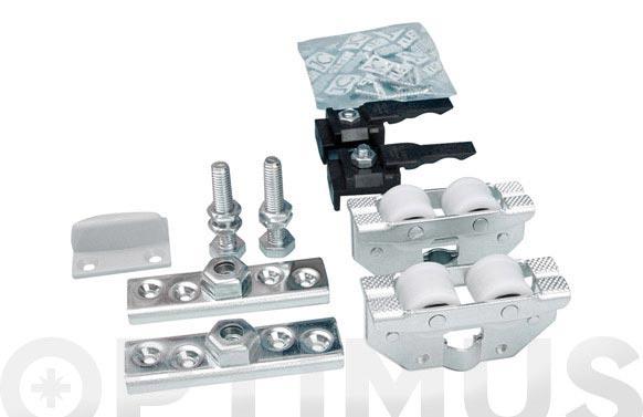Conjunto instalacion aluminio natural nk80 1,6 m