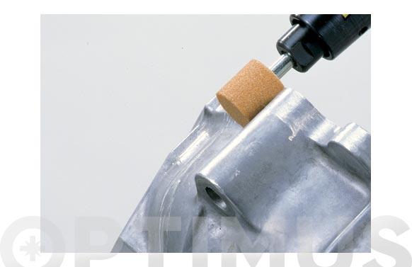 Amoladora recta neumatica kit con muelas ø pinza 6 mm