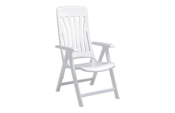Sillon posiciones resina blanes blanco