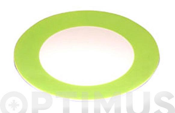 Plato llano top pagnissin 827 verde