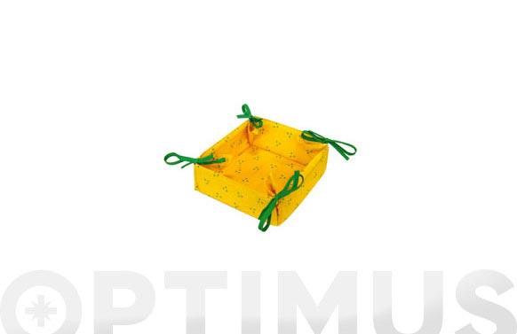 Porta servilletas b.art 366 amarillo