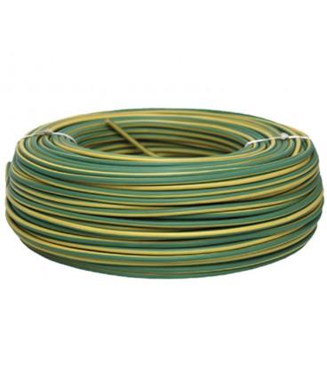Cable conexion h07v-k (r.25m) 1x1.5 amarillo / verde