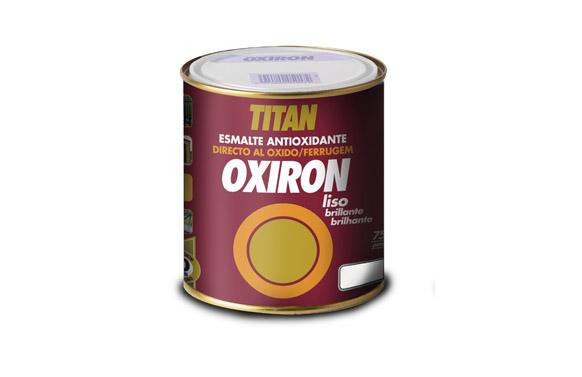Esmalte liso oxiron 750 ml blanco 4566