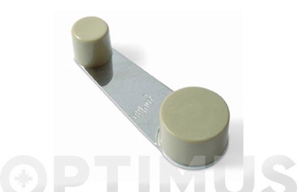 Tope giratorio brinox beige