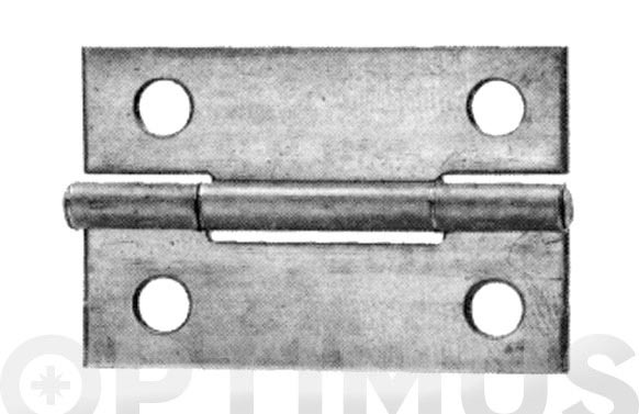 Bisagra hierro pulido schroeder 5005 3/4