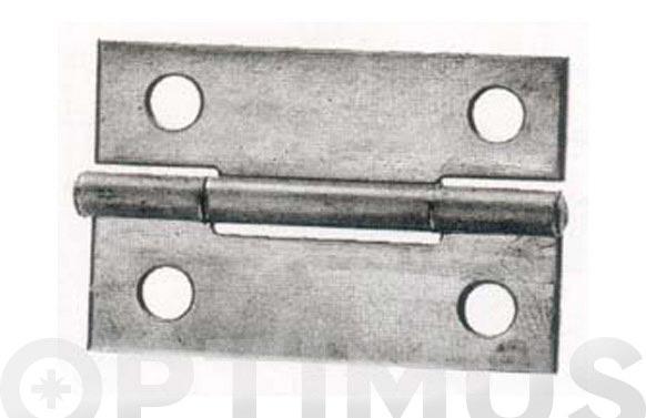 """Bisagra hierro pulido schroeder 5005 1"""" 1/2"""