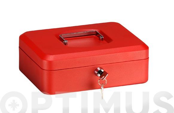 Caja de caudales elegant t3/90x250x180 rojo