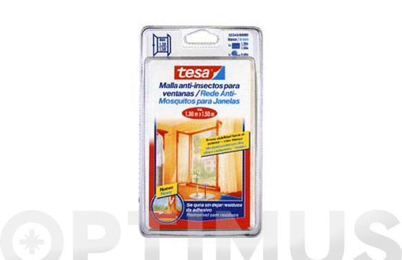 Mosquitera ventana 1,7 x 1,7 mt color antracita